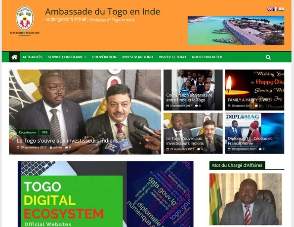 Ambassade du Togo en Inde